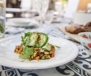 vigne hotel 5 300x250 Green cuisine